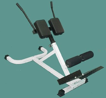 ... 45-Degree-Roman-Chair-White-Frame-0-0 & 45 Degree Roman Chair White Frame - Training Equipment Direct