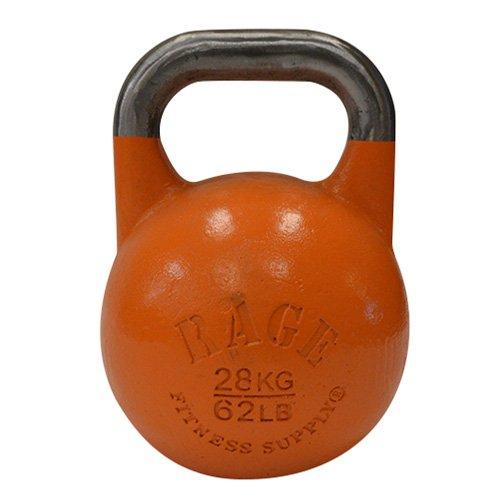 rage fitness competition kettlebell 28 kg 62 lbs orange training equipment direct. Black Bedroom Furniture Sets. Home Design Ideas