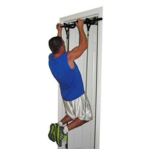 BEACHBORN() Multi-Function Doorway Pull-Up Bar And 11