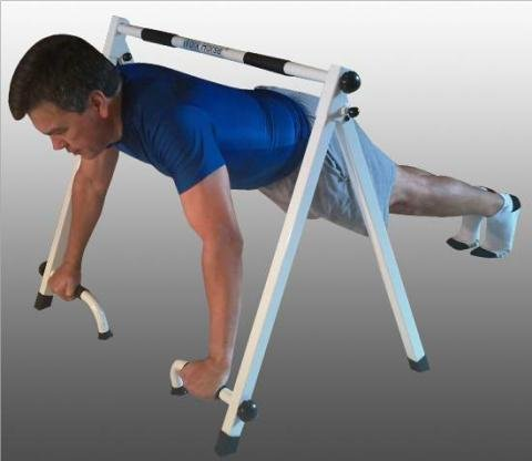 Portable Pull Up Amp Push Up Bar For Inverted Pull Ups