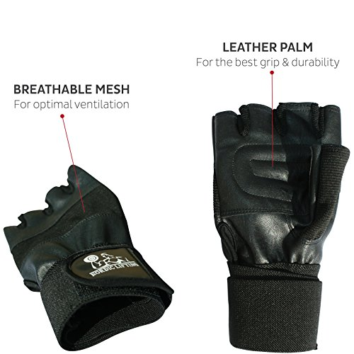 Workout Gloves Size Chart: Weight Lifting Gloves With Wrist Support For Gym Workout