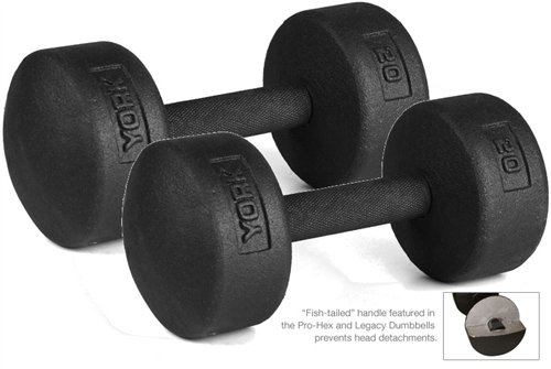 york legacy dumbbell set. york-barbell-20-lb-legacy-solid-professional-round- york legacy dumbbell set e