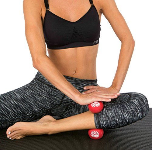 Knotty Body Massage Therapy Balls Set Of 2 Best Yoga Massage