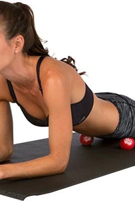 Knotty Body Massage Therapy Balls Set Of 2 Best Yoga