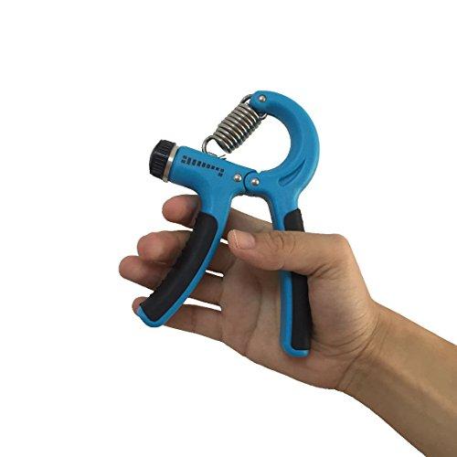 Finger Hand Exerciser Strengthener Wrist Forearm Grip Trainer Resistance BanYJUS