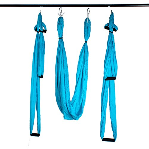 Medium image of agptek deluxe aerial yoga hammock yoga inversion sling