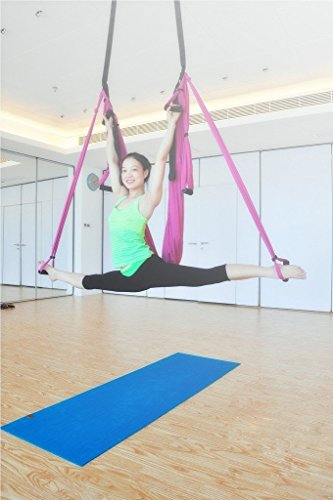 Lovess High Quality Deluxe Aerial Yoga Hammock Large