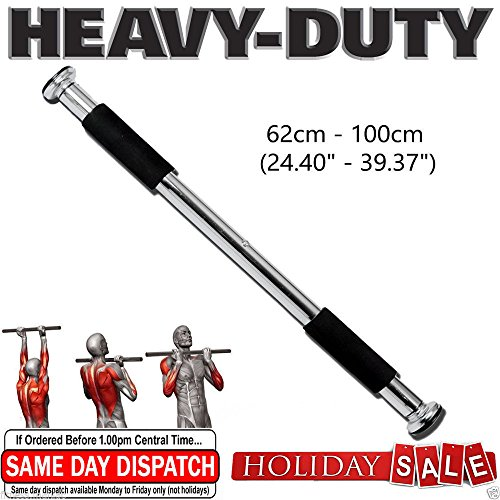 New-Doorway-Pull-up-Door-Bar-Home-Gym-  sc 1 st  Training Equipment Direct & New Doorway Pull up Door Bar Home Gym Chin Fitness Exercise Heavy ...