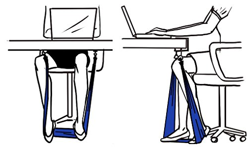 Work N Stretch Products Resistance Band Level 1 With Desk